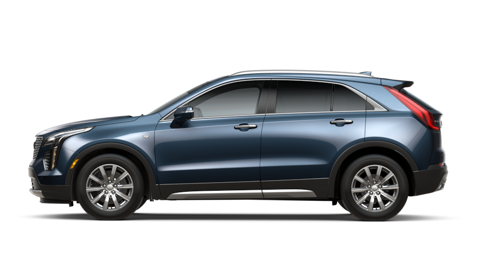 Diagram of 2020 Cadillac XT4 Specs
