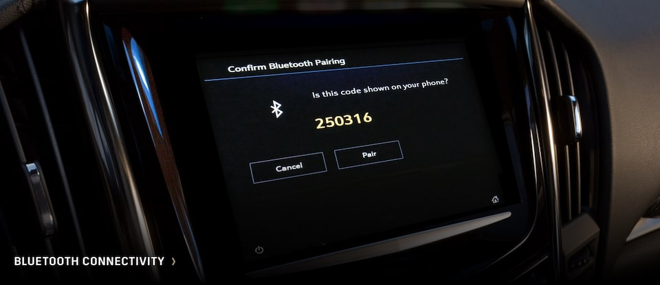 Cadillac: Bluetooth Connectivity